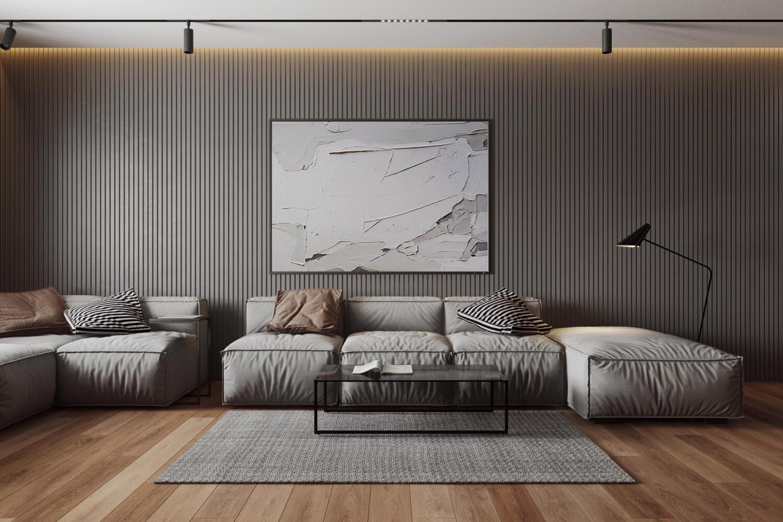 Функциональная мебель в современной гостиной