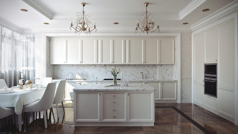 Кухонный гарнитур, изготовленный на заказ