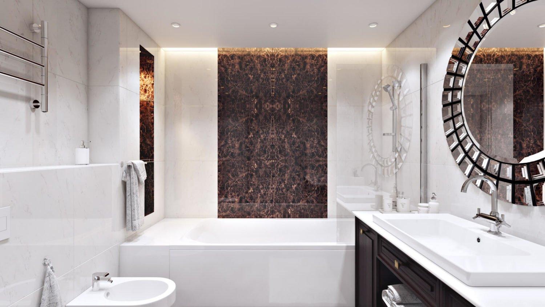 Пространство для хранения под ванной