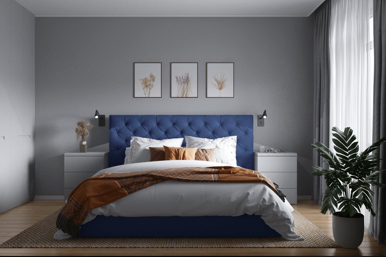 Дизайн уютной спальни в квартире