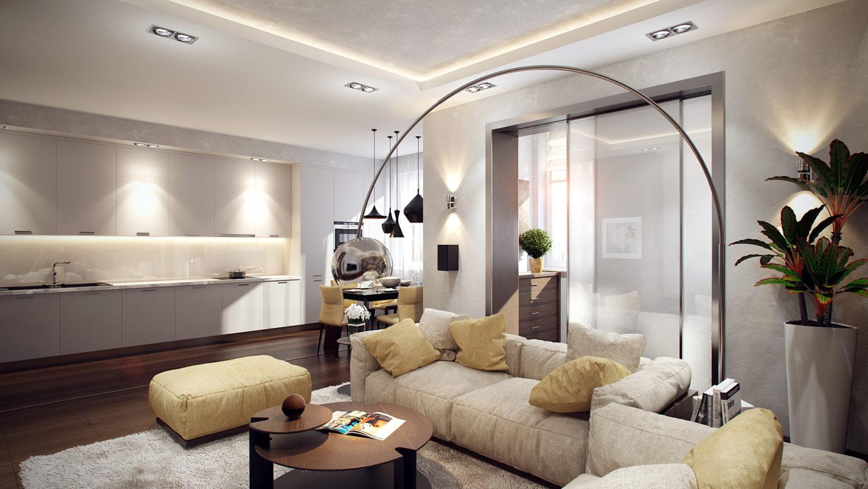 Необычная мебель в дизайне современной гостиной