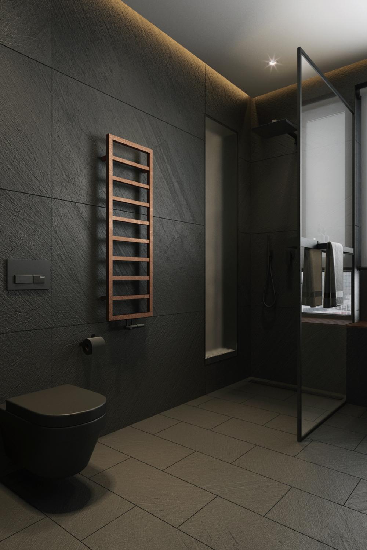 Оригинальный дизайн сантехники в ванной